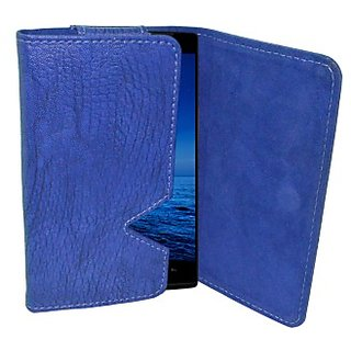 Totta Wallet Case Cover For Maxx Ax8 Note I (Blue)