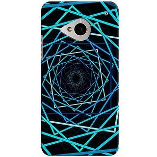 SaleDart Designer Mobile Back Cover for HTC One M7 HTCM7KAA48