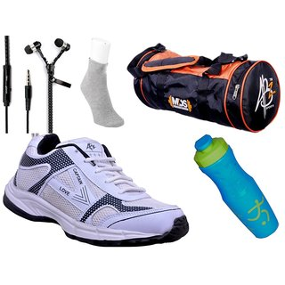 ABZ Sports Shoes & Accessories Gym Combo