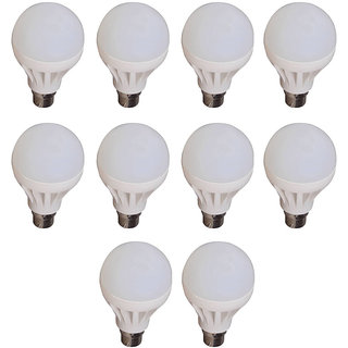 5W LED Bulbs (Pack of 10)