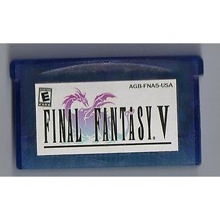 Final Fantasy V Advance SP (GBA) For Game Boy