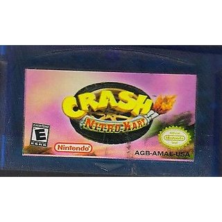 Crash Nitro Kart Advance SP (GBA) For Game Boy