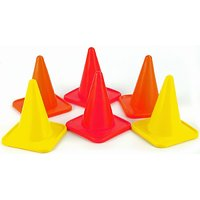 Training Cone Marker 4 Inch (Pack of 6)