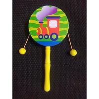 wooden DUGDUGI rattle  toy