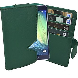 Totta Wallet Case Cover for Samsung Galaxy Grand I9080 (Green)