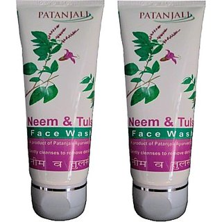 Patanjali Neem Tulsi Face Wash(120 g)