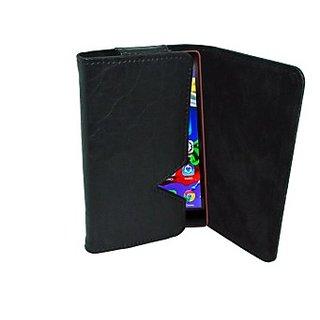 Totta Wallet Case Cover for Lenovo A859 (Black) ACCE8JNRH5WZGJJZ