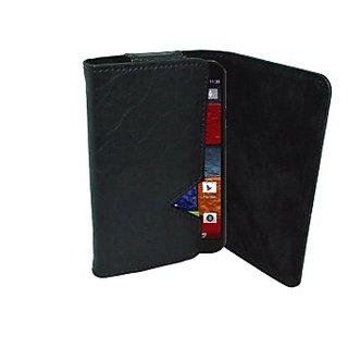 Totta Wallet Case Cover for Motorola Moto G (2nd Gen) (Black)