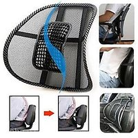 Car Back Seat Massage Chair Lumbar Back Support Cushion hd soft comfy