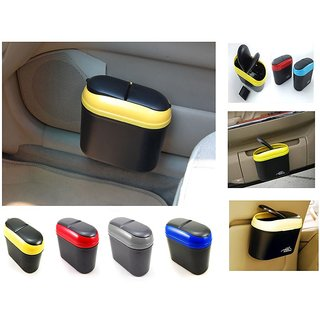 TAKECARE Multicolour Car Trash Bin / STYLISH DUSTBIN FORHYUNDAI I-20