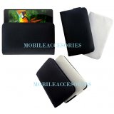 Rich Leather Soft Carry Case For Iball Andi 5H Quadro Mobile Handpouch Cover New (Black) available at ShopClues for Rs.199