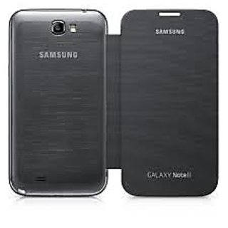 Samsung Galaxy Note 2 Flip Cover available at ShopClues for Rs.99