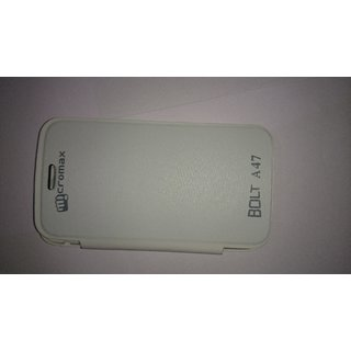Micromax A47 Flip Cover available at ShopClues for Rs.150