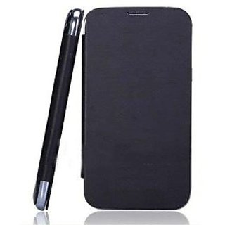 Micromax A47 Black Flip Cover available at ShopClues for Rs.159