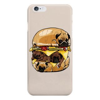 Dreambolic Pugs Burger Back Cover For I Phone 6