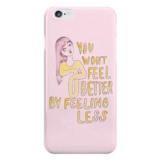 Dreambolic You Wont Feel Better By Feeling Less Cover For I Phone 6