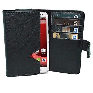 Totta Wallet Case Cover for Motorola Droid Razr (Black)