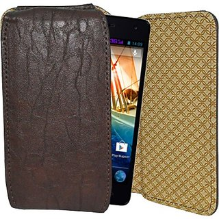 Totta Holster for Micromax Canvas Knight A350 (Brown)