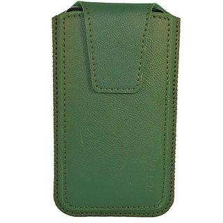 Totta Pouch for Lava Iris Fuel 60 (Green)