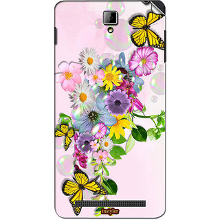 Instyler Mobile Skin Sticker For Xolo 6X 1000 MSXOLO6X1000DS10046