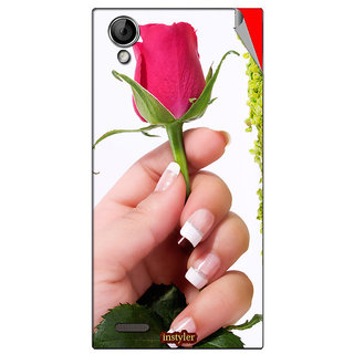 Instyler Mobile Skin Sticker For Xolo A 600 MSXOLOA600DS10082