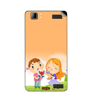 Instyler Mobile Skin Sticker For Xolo Q1200 MSXOLOQ1200DS10055