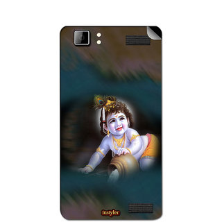 Instyler Mobile Skin Sticker For Xolo Q1200 MSXOLOQ1200DS10088