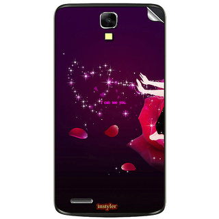 Instyler Mobile Skin Sticker For Xolo Q700 MSXOLOQ700DS10114