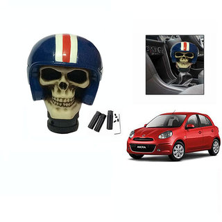 Takecare Stylish Helmet Gear Knob For Nissan Micra