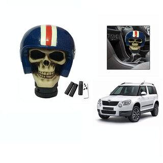 Takecare Stylish Helmet Gear Knob For Scoda Yeti