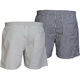 Careus MenS Cotton Boxers (Pack Of 2)