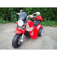 Bhuvid Avenger Style Red Electric Bike For Kids(0-2 Years & 3-4 Years)