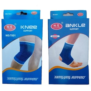 Fitness Combo (Knee Support + Ankle Support)