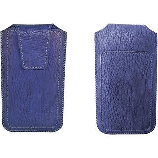 Totta Pouch for Karbonn Alfa A91 (Blue)
