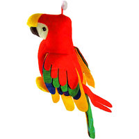 Musical Parrot Stuffed Soft Plush Toy