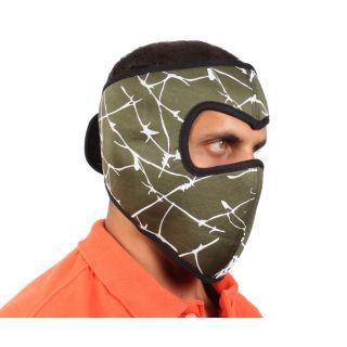 sushito Millitary Green Face Mask  JSMFHFM0706
