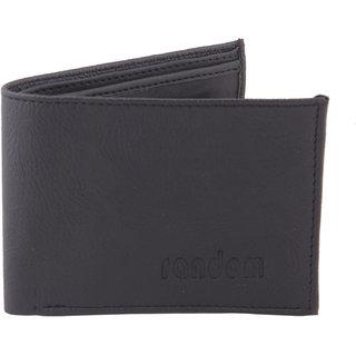Random Black Mens Bi-Fold Wallet