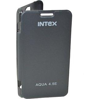 Totta Flip Cover for Intex Aqua Dream 2         (Black)
