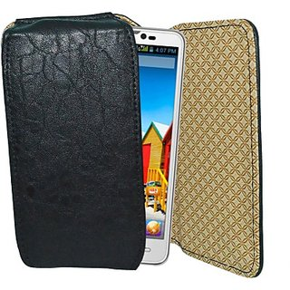 Totta Holster for Micromax Canvas Juice 2 AQ5001         (Black)