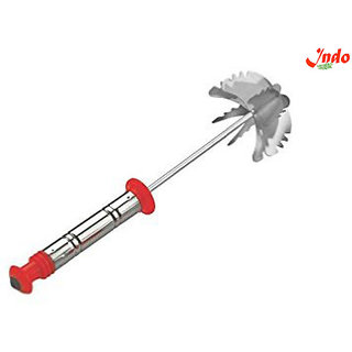 Indo Stainless Steel Spring Mixi Egg / Lassi / Butter Milk Maker / Mixer Hand Blender