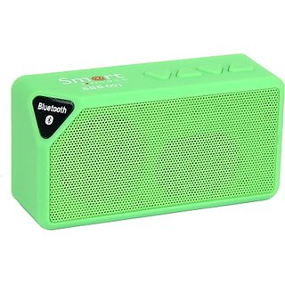 Smartmate-SBS-001-Wireless-Mobile/Tablet-Speaker-(Green,-1.0-Channel)
