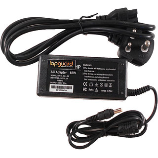 Lapguard Laptop Charger For Hp Compaq Business Notebook Nx6120 18.5V 3.5A Thin Pin LGADHP185V35A4817110482