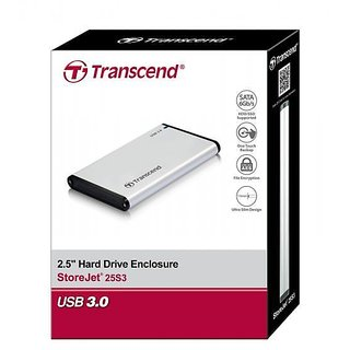 Transcend 2.5 USB 3.0 Sata Casing for Laptop Hard Disk