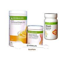 Herbalife Ultimate Weight Management Program Formula 1 Formula 3 -Mango (1 Shake 500Gm, 1 Protein Powder,1 AL )