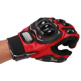 Pro bike Gloves - Bike / Motorcycle / Cycle Riding Gloves Bike Gloves size L