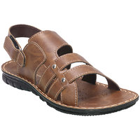 Action Floaters MenS Grey Velcro Sandals