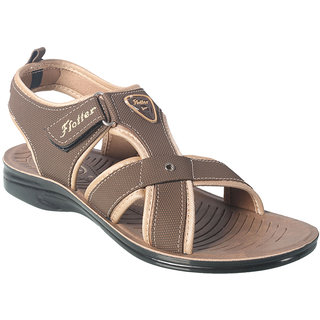 Action Floaters MenS Tan Velcro Sandals