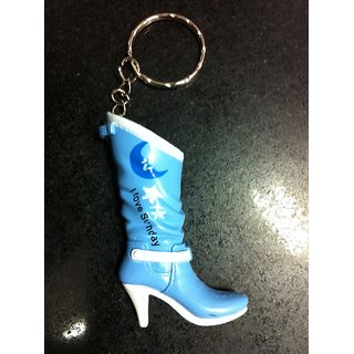 Lady Shoe Blue Shoe Keychain (Pair Of 2pcs) - New Launch Perfect Gift Of Your Loved Ones
