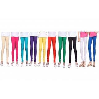 Aashish Fabrics - Combo Kids Leggings (Pack of 10)