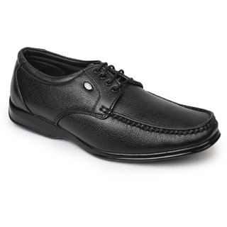 Action Dotcom MenS Black Formal Lace Up Shoes